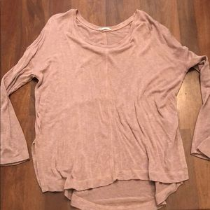 Blush Oversized Sweater - Size L